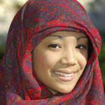 malaysia tours by backyard travel - smiling malaysian lady with hijab