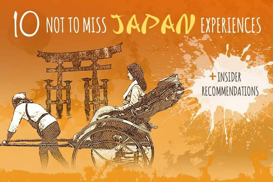 10 authentic experiences not to miss in Japan [Infographic]