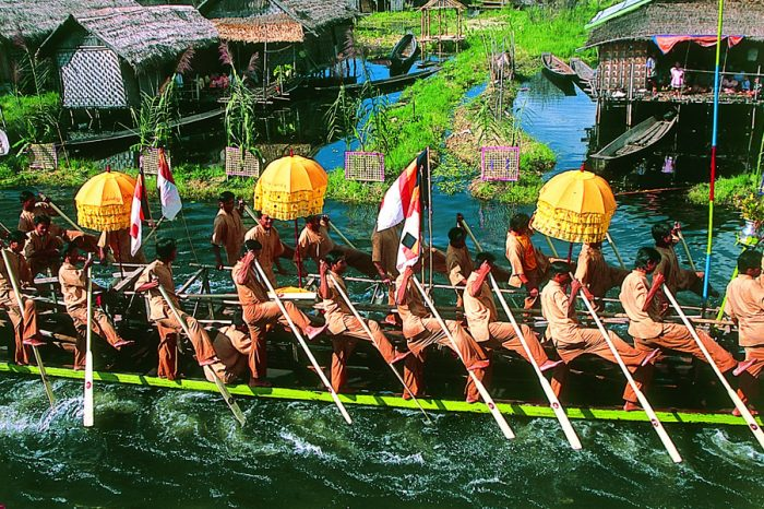 INLE LAKE'S ENCHANTING PHAUNG DAW OO FESTIVAL