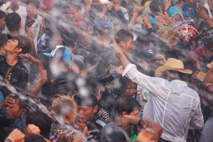 WATER FIGHTS AND MERIT-MAKING: MYANMAR'S THINGYAN WATER FESTIVAL