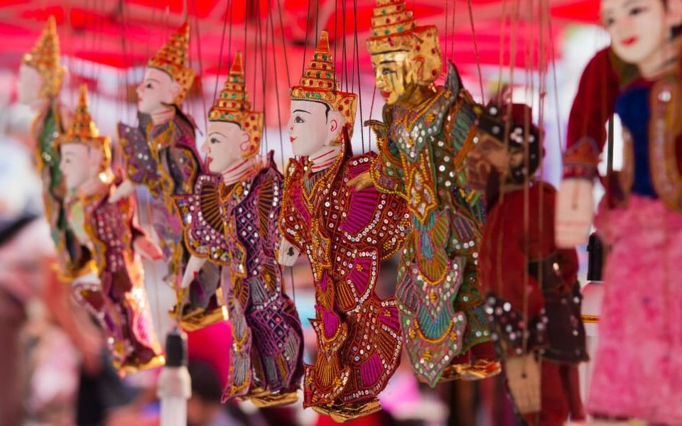 The Ten Flowers: Arts and Crafts in Myanmar