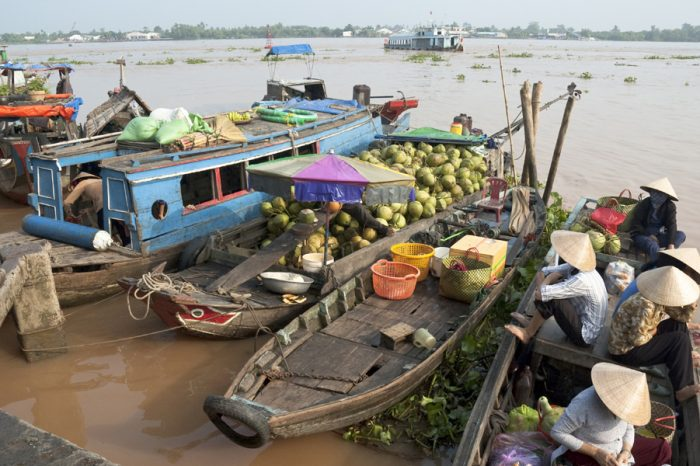 WEAVING THROUGH WATERWAYS: THE MEKONG DELTA