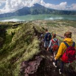 shutterstock_191754302-Group of hikers walking on the caldera of volcano of Batur, Bali, Indonesia