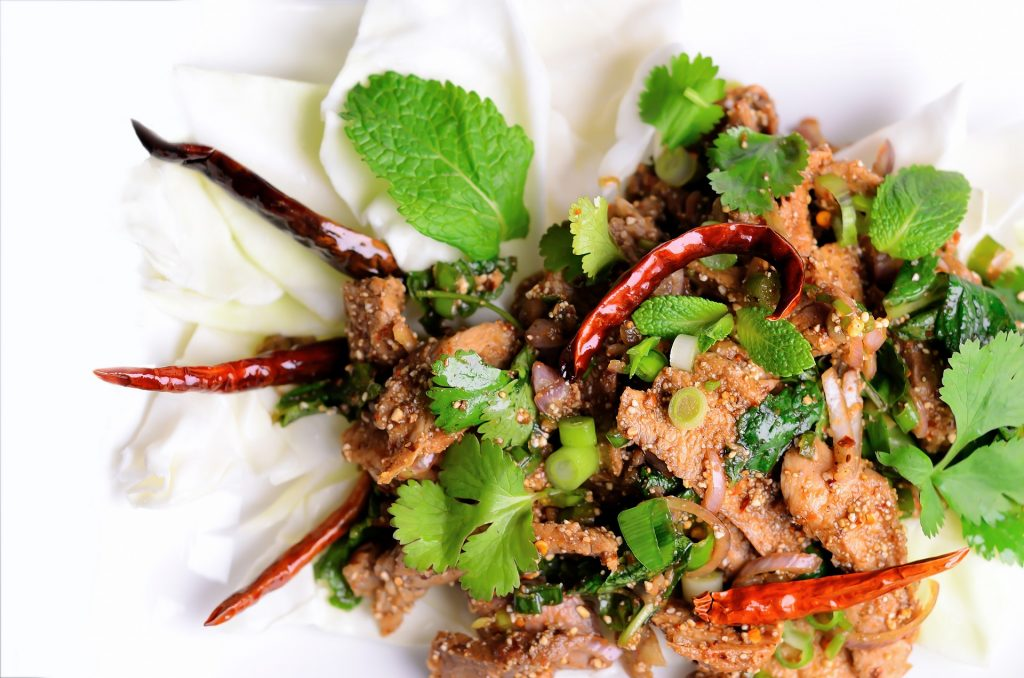 Bangkok food tour: thai spices