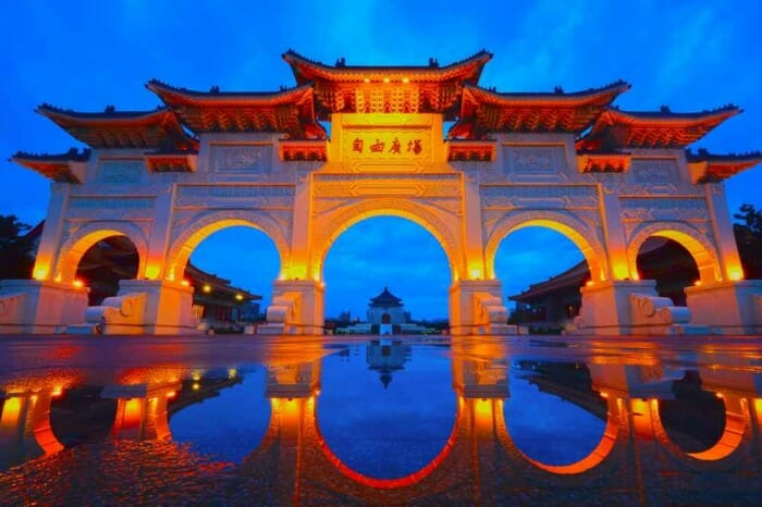 THE CLASSIC TREASURES OF TAIWAN