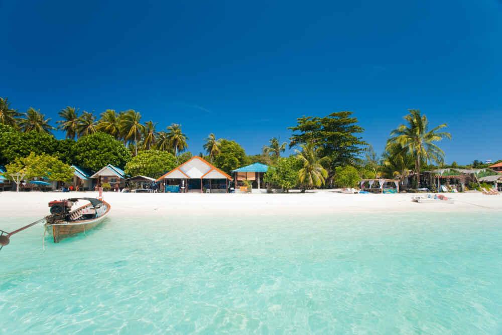 White Sand Beach Paradise Koh Lipe
