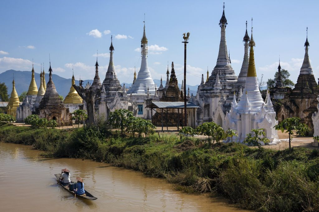 Inle Lake in Shan State in Myanmar (Burma)