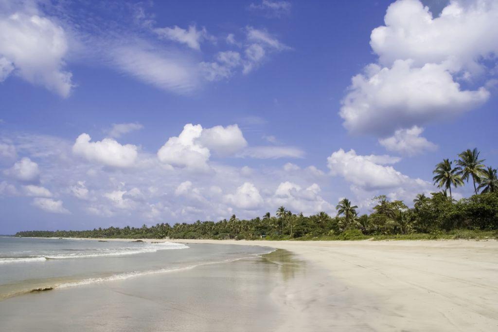 Ngwe Ssaung beach in Myanmar