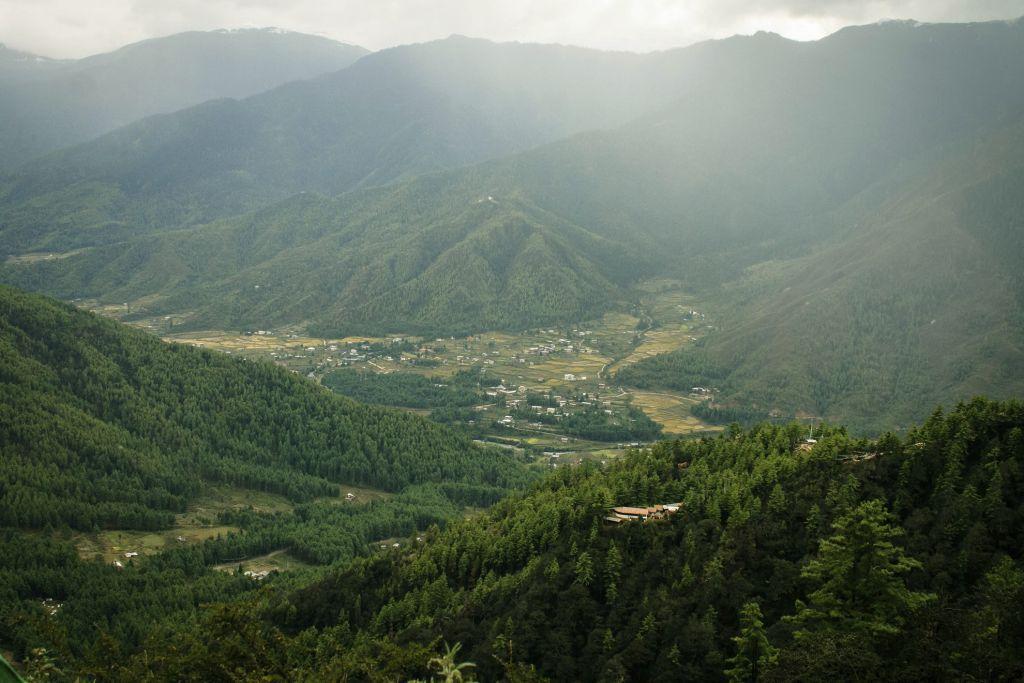 Bhutan Paro Valley