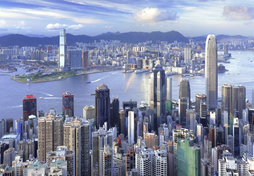 Hong Kong city overview