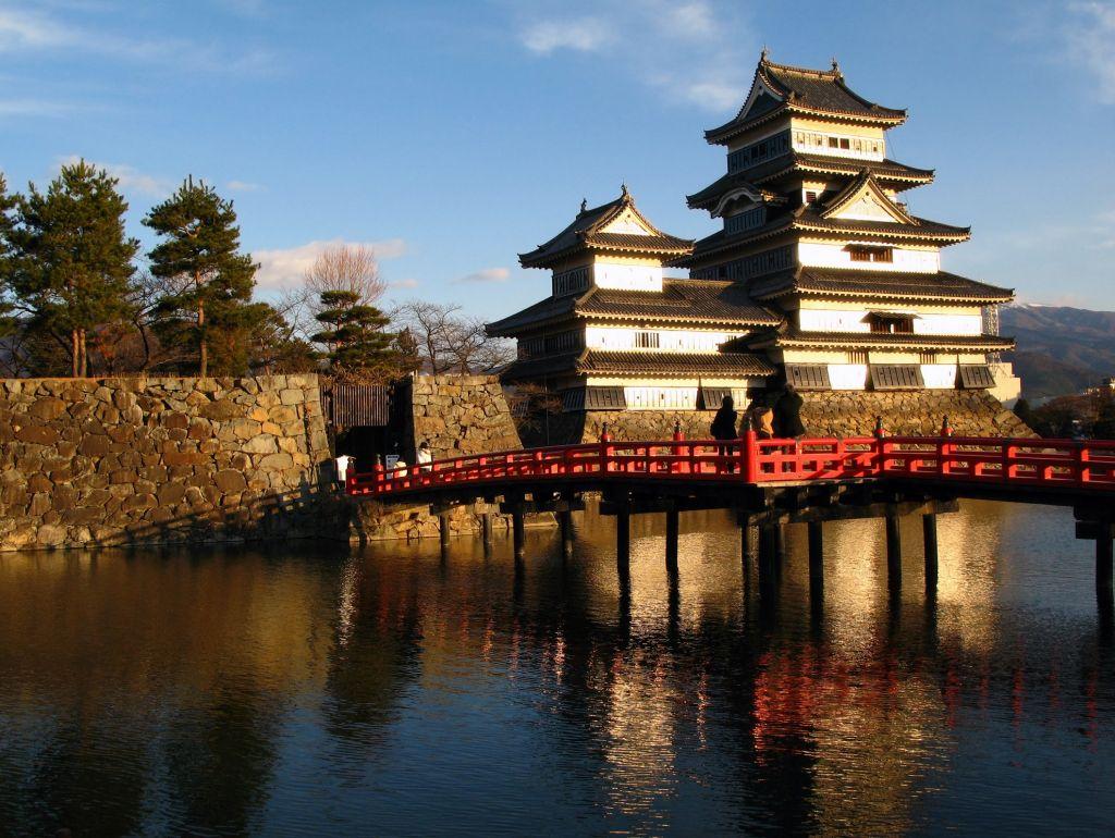 Japan - Honshu - Matsumoto - castle