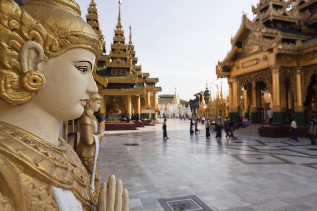Myanmar Yangon Schwedagon Pagoda