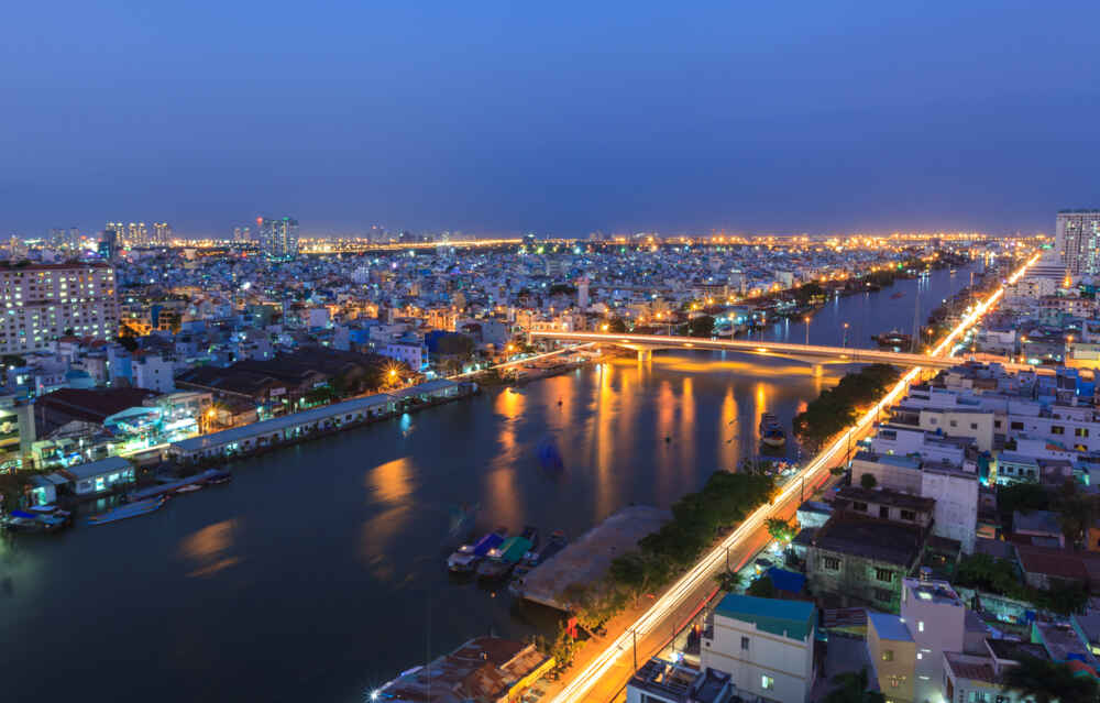 Vietnam-Saigon-Night-View