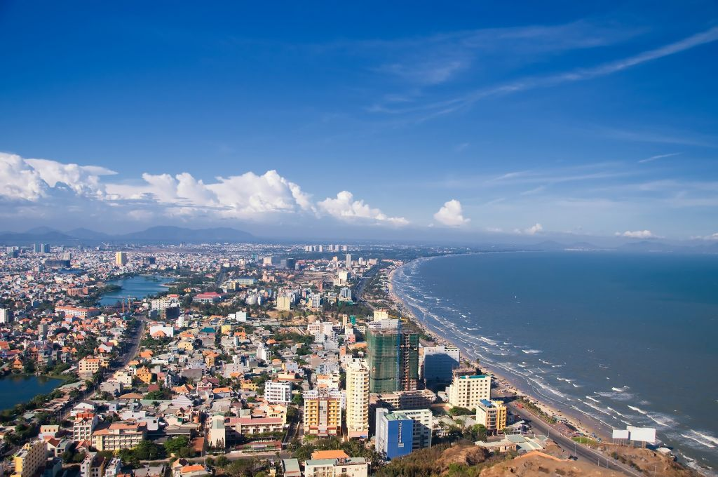 Vietnqm Vungtau City and coast