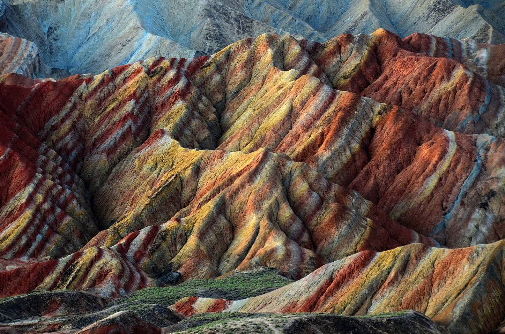 Ganzu rainbow mountains