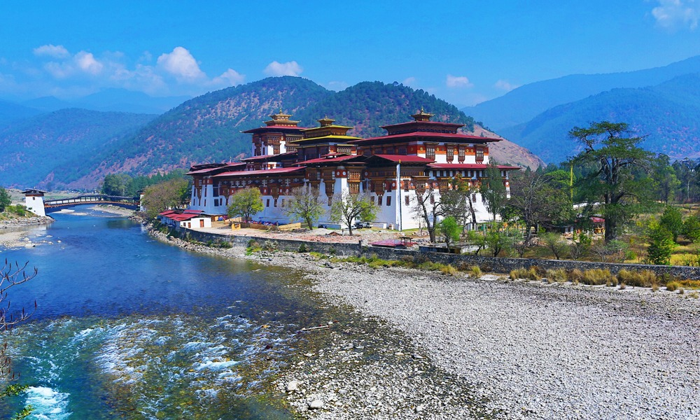 Bhutan fortresses - travel experiences only in Asia