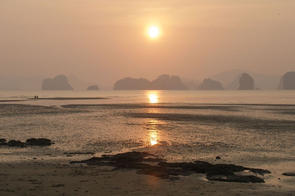 secret place in Thailand: sunset on Koh Yao Noi