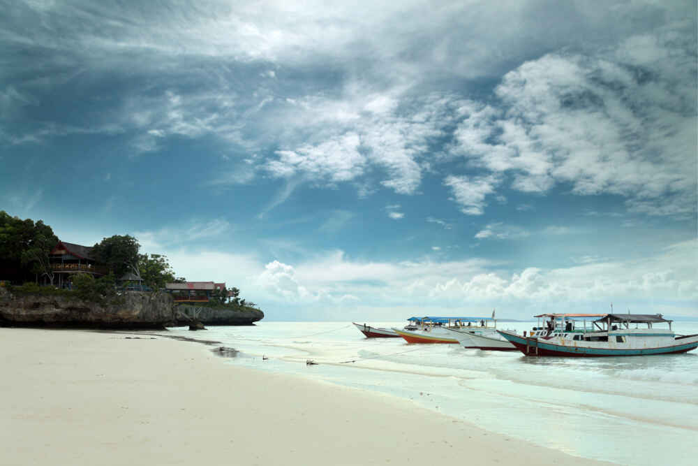 best beaches in Indonesia: pristine Bira Beach on Sulawesi island - Backyard Travel