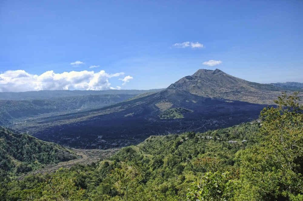 Indonesia Bali Kintamani volcano