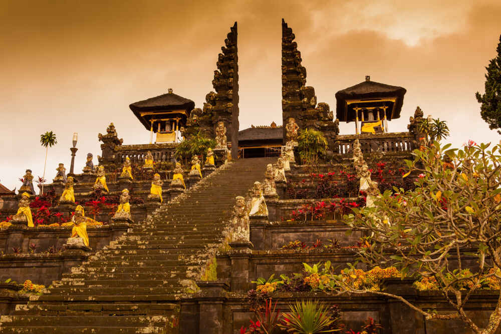 Indonesia Bali Pura Besakih temple