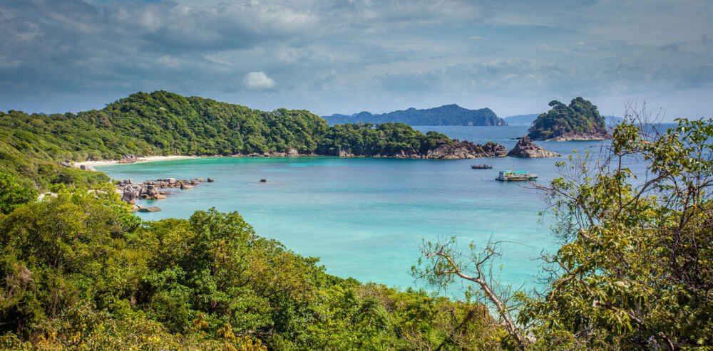 Mergui Islands Andaman Sea facts about myanmar