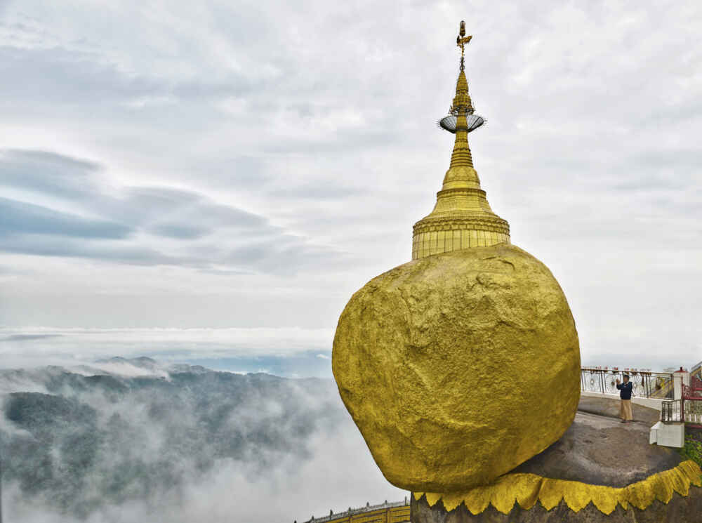 Myanmar Golden Rock Kyaiktiyo Pagoda facts about myanmar