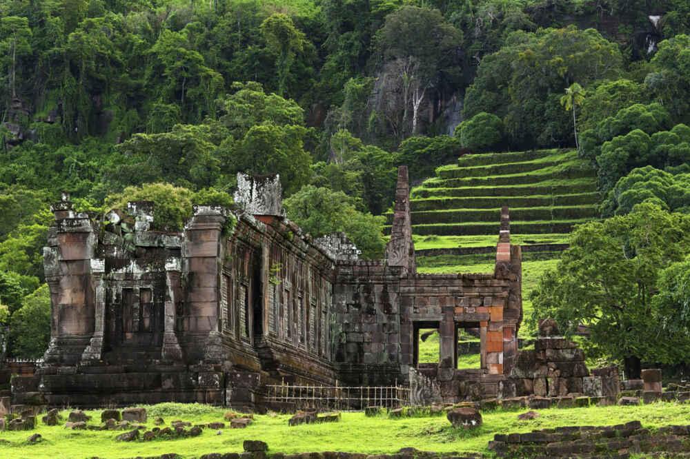 Laos Champasak Vat Phu or Wat Phuin