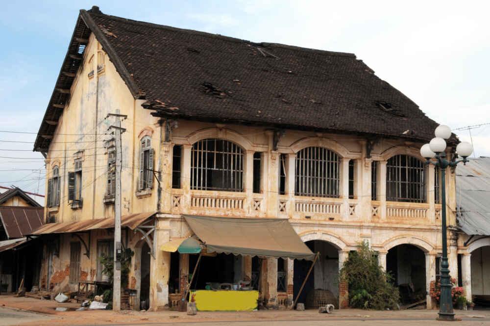 Laos Vientiane ARCHITECTURE Savannakhet