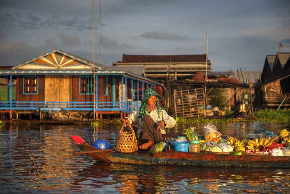 women tonle sap facts about cambodia