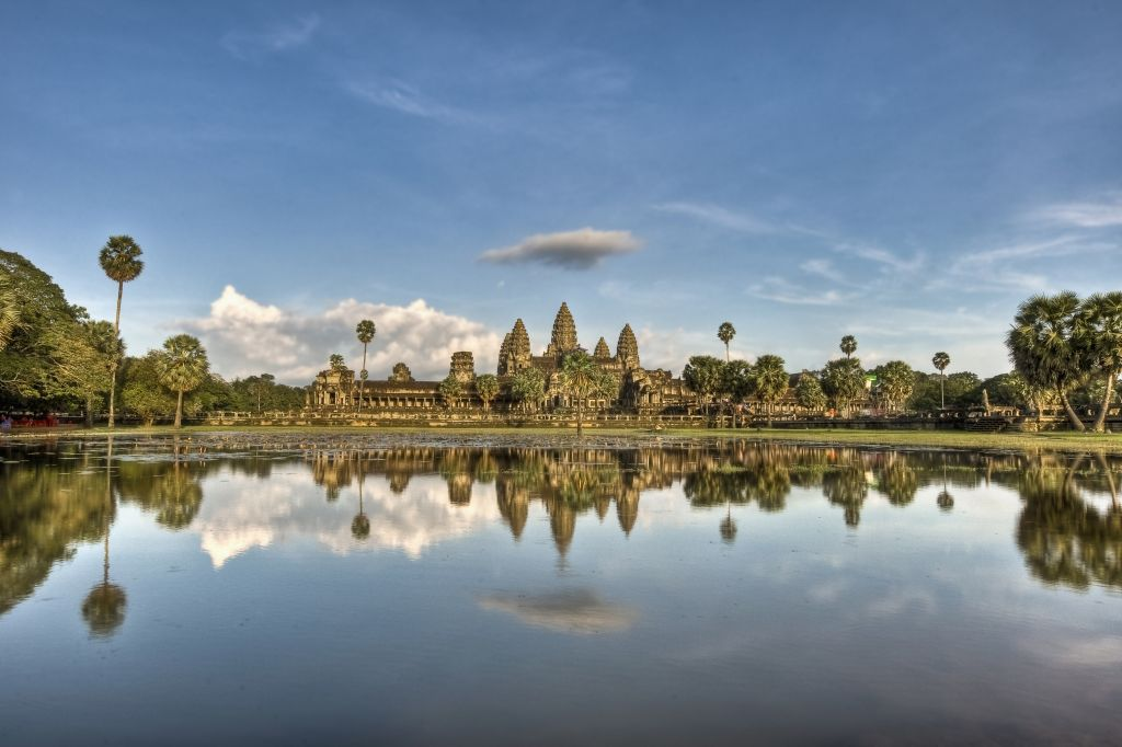 Christmas holidays in Asia - Angkor Wat temples