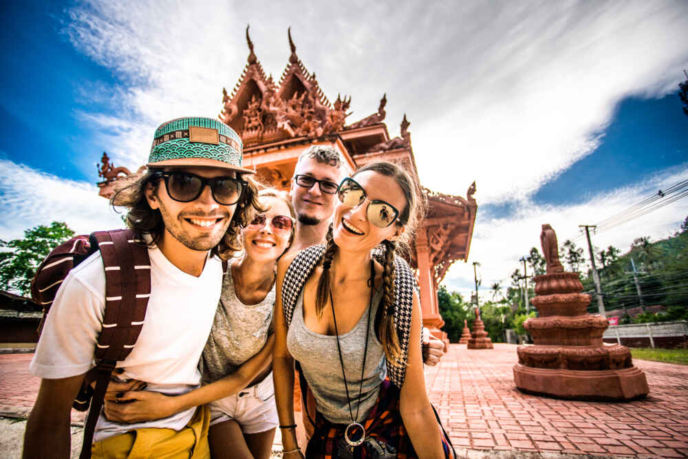 Tourists in Thailand facts about thailand