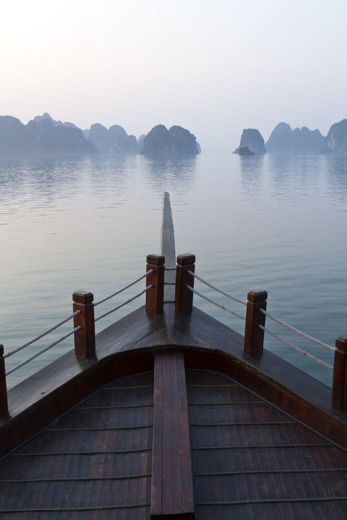 Halong Bay Vietnam is also one of the best places Christmas holiday in Asia