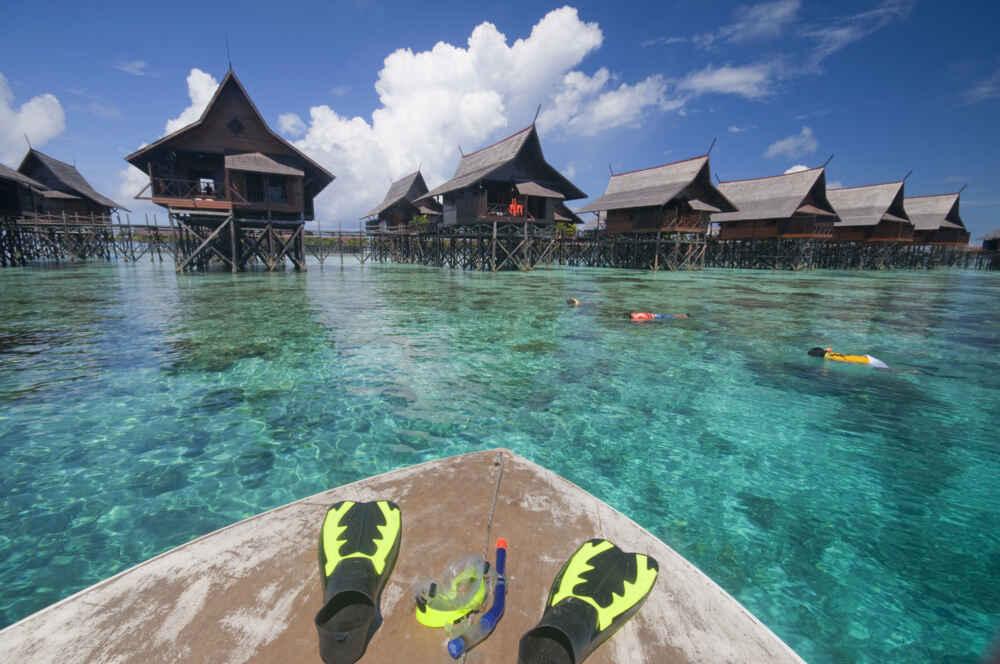 Malaysia Borneo Snorkeling in Borneo Malaysia Facts about borneo