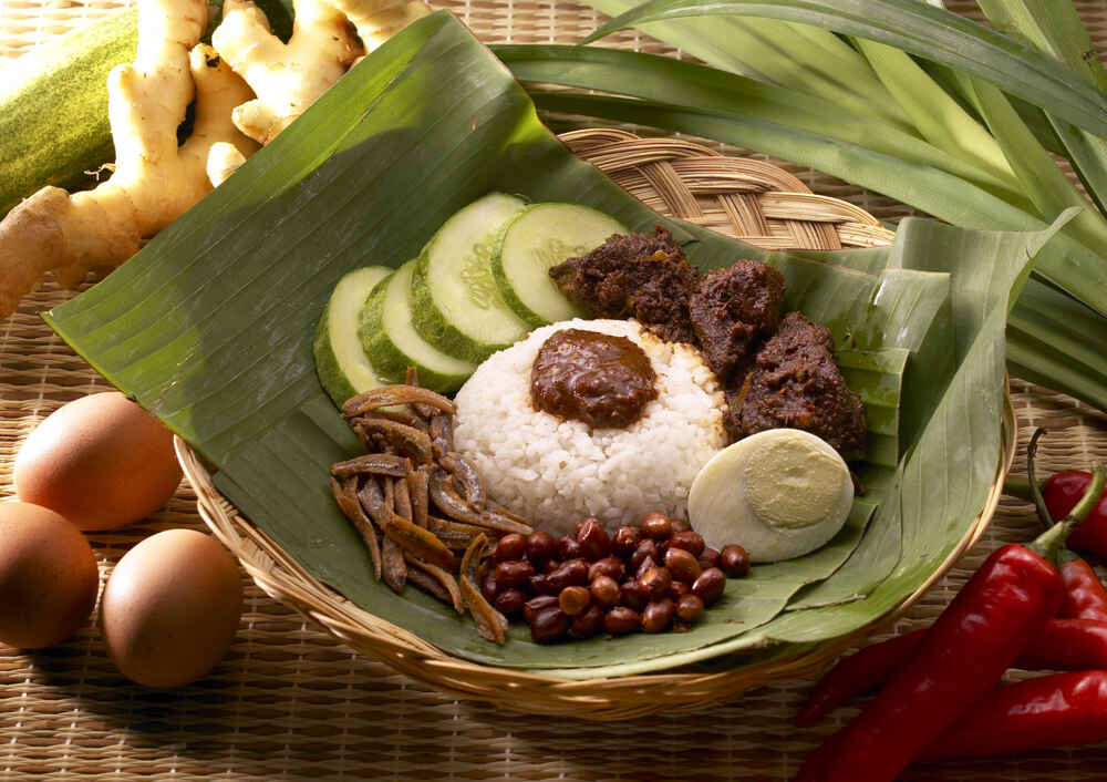 Malaysia Food Nasi lemak Facts about borneo