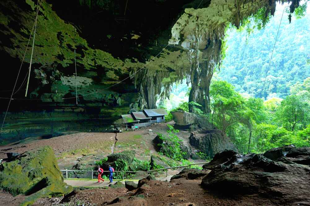 Niah cave Facts about borneo