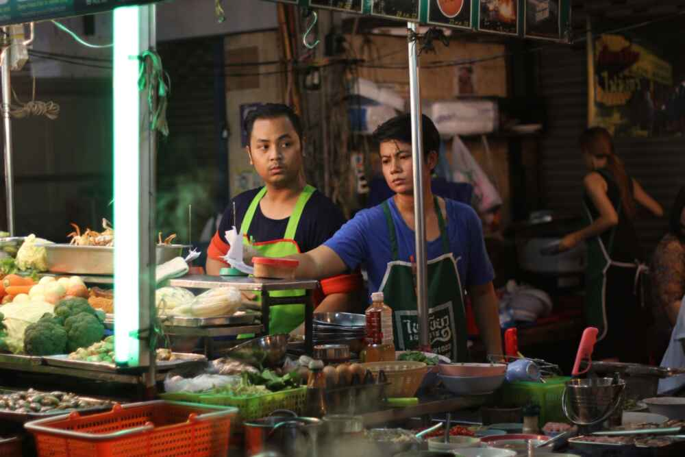 Thailand Food treet Food facts about bangkok
