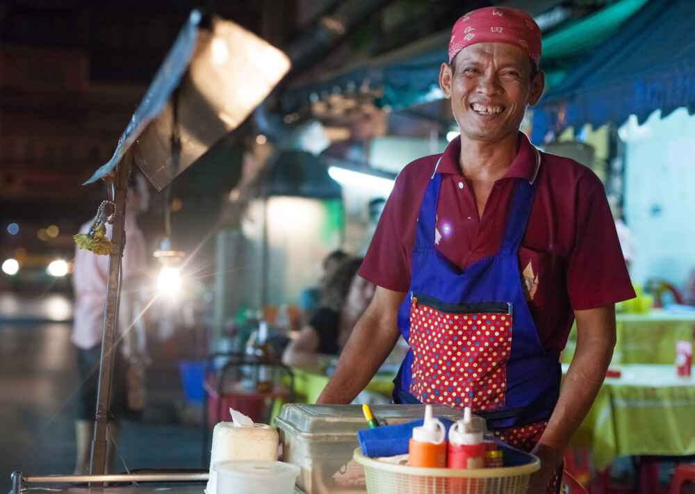 Thailand Local Vendor facts about bangkok