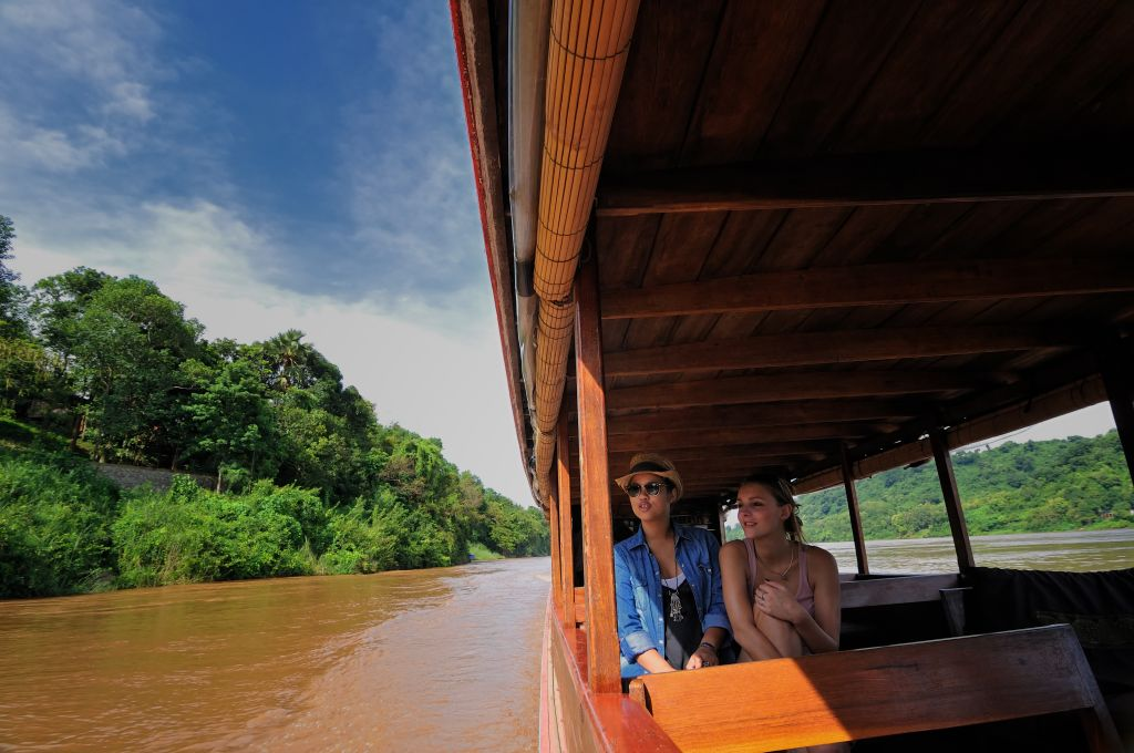 Luxury cruise in Asia - Mekong river