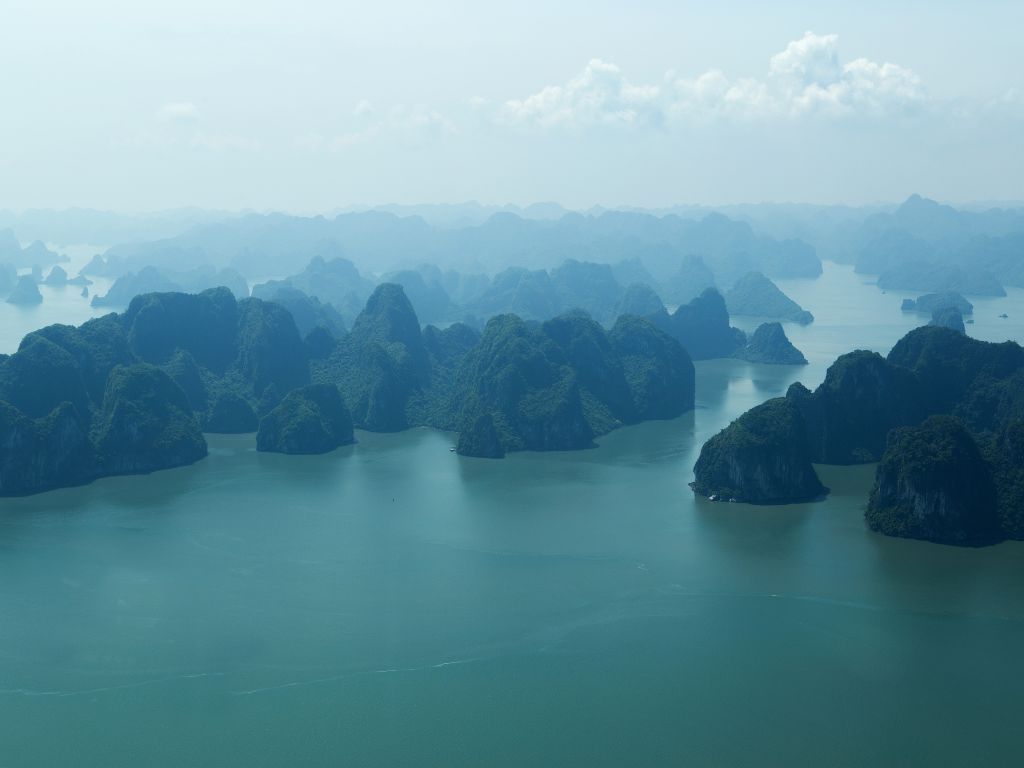 Halong Bay has more than 2,000 islands