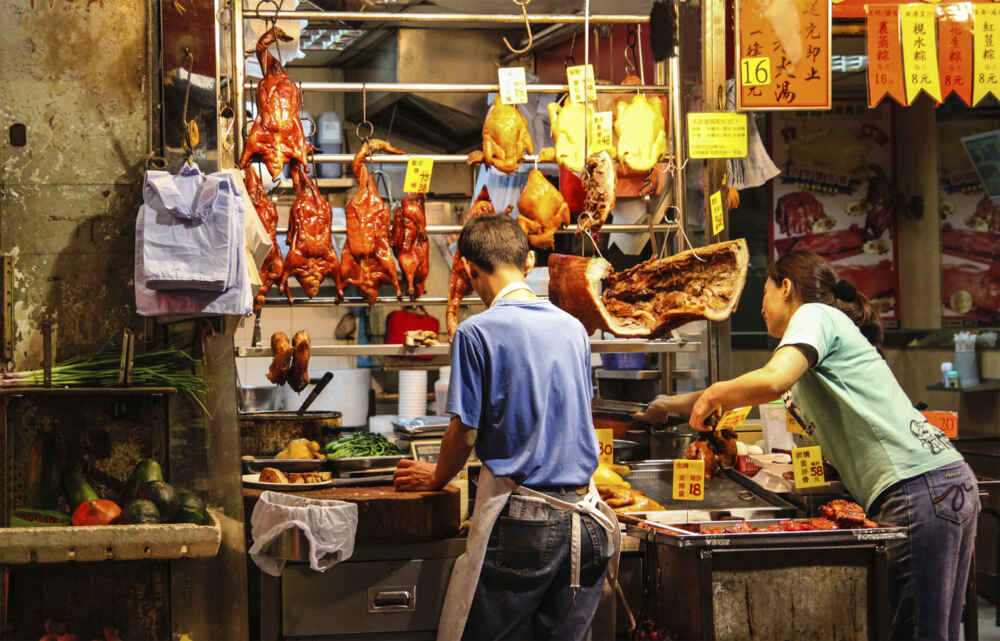 Hong Kong Street Market-multi-country-holidays-in-asia