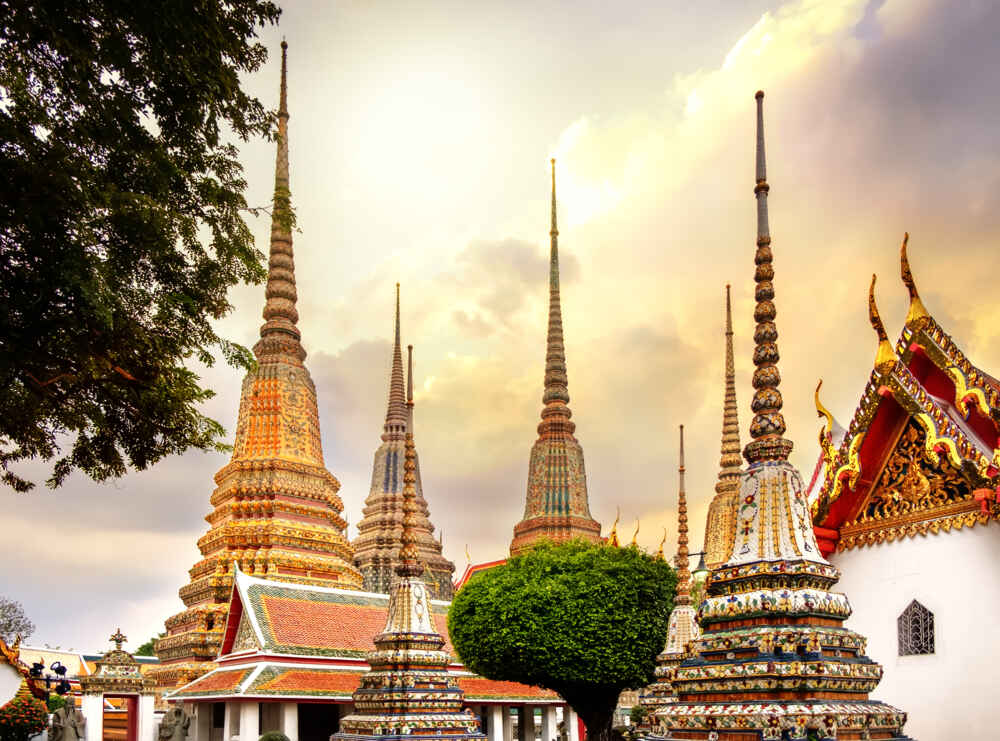 Thailand Bangkok Temple Wat Pho multi country holidays in asia