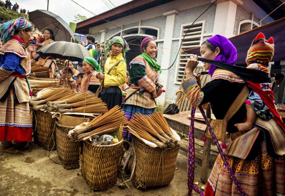 Vietnam Sapa Bac Ha Market