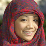 malaysia tours by backyard travel - smiling malaysian lady with hijab