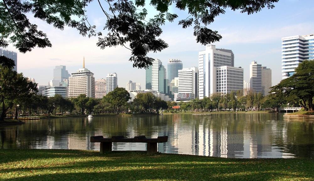 Thailand, Cambodia and, Vietnam Tour: Lumphini park, Bangkok