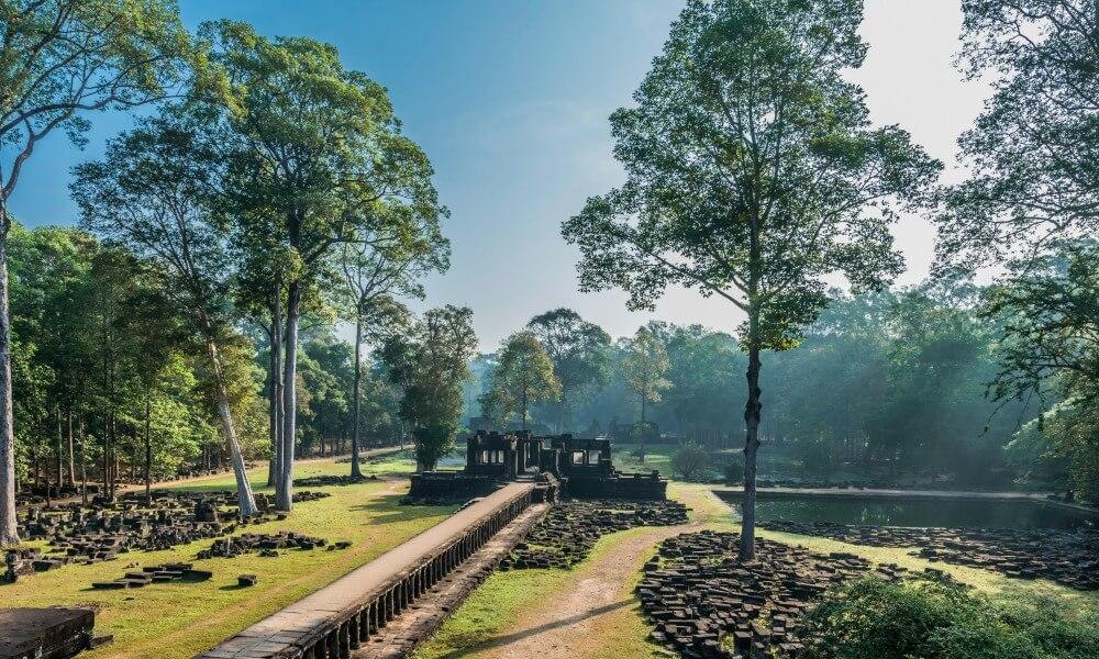 Angkor Wat Family Tour: Angkor Thom