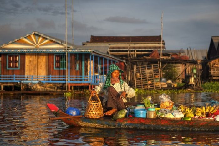 Cambodia Cruise and River Journeys