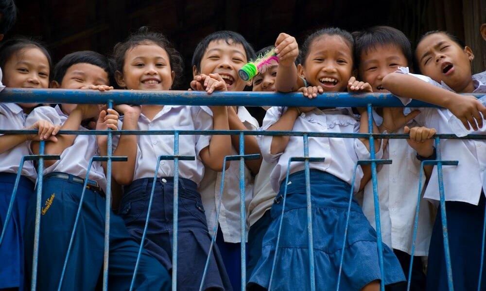 Khmer Cuisine Tour: Cambodian kids