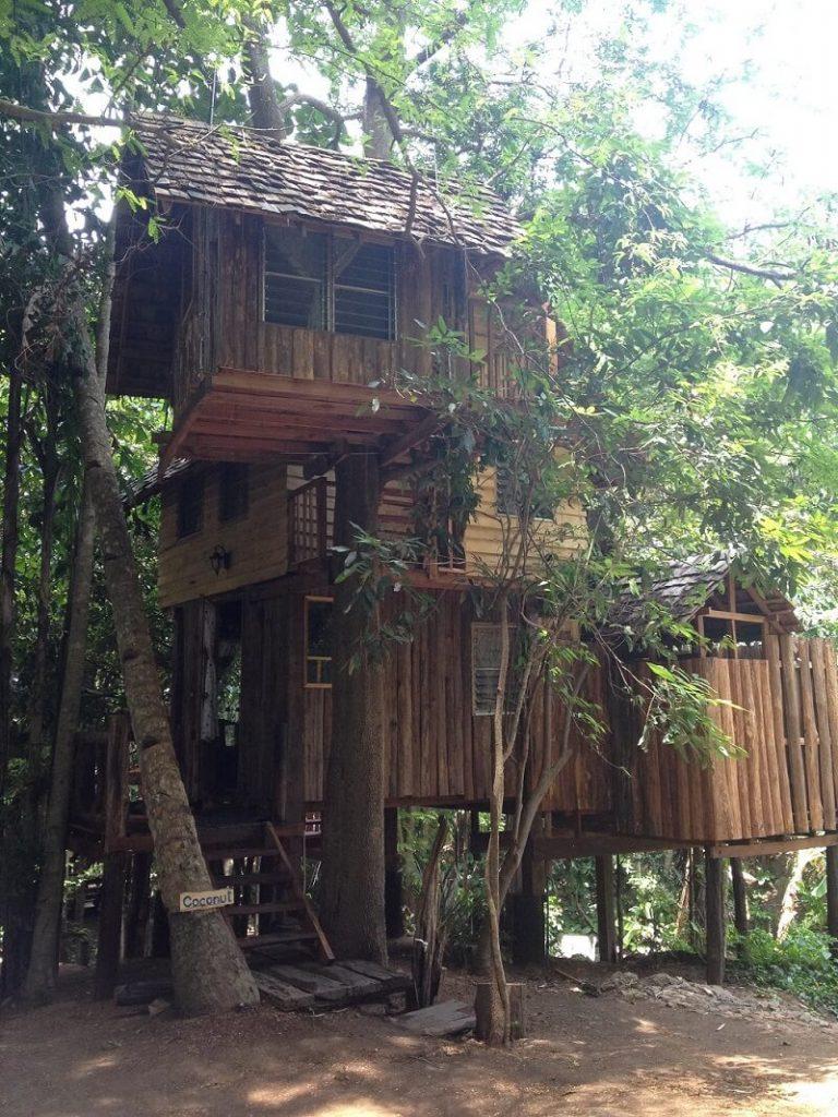 life in a Thai house: Thai wooden house northern Thailand