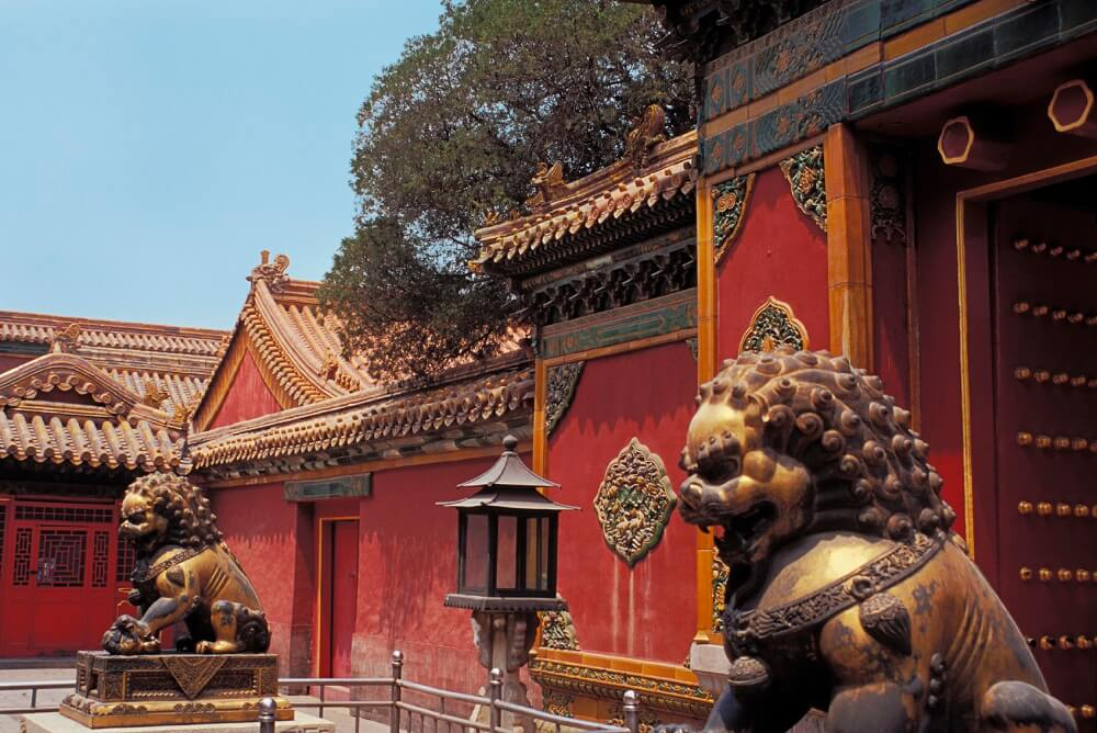 10 day China tour: Forbidden city in Beijing
