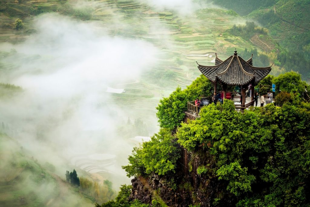 Yunnan terrace fields